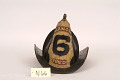 "View Fire Helmet, ""Harmony 6 Fire Co."" digital asset number 4"