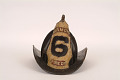 "View Fire Helmet, ""Harmony 6 Fire Co."" digital asset number 1"