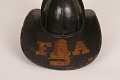 "View Fire Helmet, ""Harmony 6 Fire Co."" digital asset number 3"