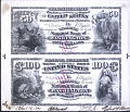 View Proof sheet for $50-100 of the Traders National Bank of Washington, DC, 1890 digital asset number 1