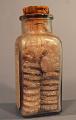 View Warner's Original Lithia Water Tablets digital asset: Warner's Original Lithia Water Tablets bottle embossing