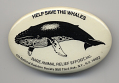 View Environmental Button digital asset: Button, Help Save the Whales