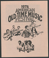 View 1978 American Old Time Music Festival digital asset number 0