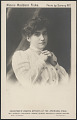 View postcard Mrs. Fiske as Leading Artist of the American Stage digital asset number 2