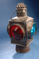 View Railroad Switch Lamp, ca 1900 - 1940s digital asset number 1