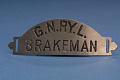View Railroad Cap Badge, Brakeman, Great Northern Railway digital asset number 1