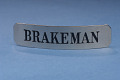 View Railroad Cap Badge, Brakeman, used on Western Maryland Railroad digital asset number 1