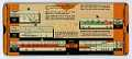 View Perrygraf Load Center Unit-Sub Slide Rule for Allis-Chalmers digital asset: Slide rule - Allis-Chalmers Load Center Unit-Sub Rule - Back View
