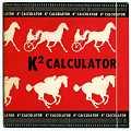 View K2 Performance/Class Horse Race Wagering Calculator digital asset: Slide rule - K2 Calculator - Case View