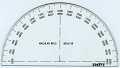 View Felsenthal FAO-44 Artillery Protractor digital asset: Slide Rule - Felsenthal FAO-44