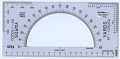 View Felsenthal FAE-31Artillery Protractor digital asset: Protractor - Felsenthal FAE-31 - Front View