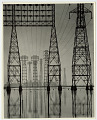 View Photographic History Collection: Will Connell digital asset: Silver gelatin print by Will Connell, 'So. Calif. Edison Plant, Long Beach, Calif.'