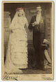 View Photographic History Collection: Circus digital asset: Cabinet card of Mr. and Mrs. Patrick O'Brien