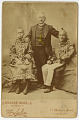 View Photographic History Collection: Circus digital asset: Cabinet card of 'Montezuma Flatheads'