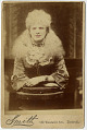 View Photographic History Collection: Circus digital asset: Cabinet card of albino woman