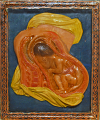 View Wax model of a human fetus digital asset: Wax model of a human fetus