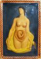 View Wax model digital asset: Wax model of a female and fetus