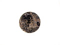 View Metal Button Depicting a Mill with Water Wheel digital asset number 0