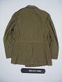 View coat digital asset: Coat, back.
