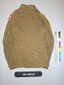 View Buffalo Soldier Uniform Coat digital asset: Coat, back.