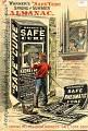 """View Warner's """"Safe"""" Cure Spring & Summer Almanac digital asset: almanac, Warner's """"Safe"""" Cure Spring & Summer Almanac"""