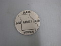 View Save the Family Farm, Protest Pin digital asset number 1