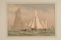 View Print, <i>Rounding the Lightship</i> digital asset number 1