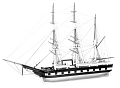 View Ship Model of the Whaling Barque <i>Mary Frazier</i> digital asset: ship model, Mary Frazier