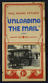"View ""Unloading the Mail 1903"" Mutoscope Movie Poster digital asset: Mutoscope Poster"
