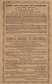 View Jenny Lind Concert Program, October 19, 1850 digital asset number 1