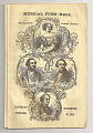 View Jenny Lind Concert Program, November 30, 1850 digital asset number 1