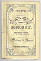 View Jenny Lind Concert Program, June 9, 1851 digital asset number 0
