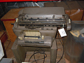 View Remington Rand Bookkeeping Machine on Stand digital asset: Remington Rand bookkeeping machine on stand.