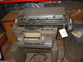 View Remington Rand Bookkeeping Machine on Stand digital asset: Remington Rand bookkeeping machine on stand