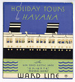 """View Borchure """"Holiday Tours to Havana"""" digital asset number 0"""