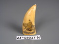 View Scrimshaw Sperm Whale Tooth, mid-19th Century digital asset number 0
