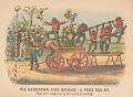 """View Lithograph, """"The Darktown Fire Brigade: The Prize Squirt"""" (2) digital asset number 0"""