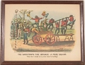 """View Lithograph, """"The Darktown Fire Brigade: The Prize Squirt"""" (2) digital asset number 1"""