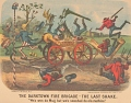 """View Lithograph, """"The Darktown Fire Brigade: The Last Shake"""" digital asset number 0"""