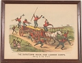 """View Lithograph, """"The Darktown Hook and Ladder Corps: Going to the Front"""" (2) digital asset number 1"""