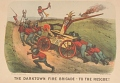 """View Lithograph, """"The Darktown Fire Brigade: To the Rescue!"""" (2) digital asset number 0"""