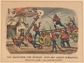 "View Lithograph, ""The Darktown Fire Brigade: Hook and Ladder Gymnastics"" (3) digital asset number 0"