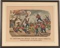 "View Lithograph, ""The Darktown Fire Brigade: Hook and Ladder Gymnastics"" (3) digital asset number 1"
