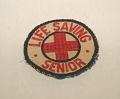 "View Girl Scout ""Life Saving Senior"" patch digital asset number 1"