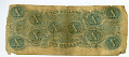 View 10 Dollars digital asset: $10 Confederate States of America paper money, back.