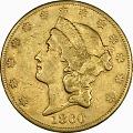 View 20 Dollars, United States, 1860 digital asset number 0