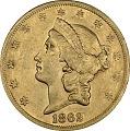 View 20 Dollars, United States, 1862 digital asset number 0