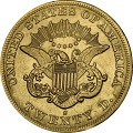 View 20 Dollars, United States, 1864 digital asset number 1