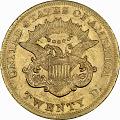 View 20 Dollars, United States, 1865 digital asset number 1