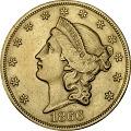 View 20 Dollars, United States, 1866 digital asset number 0